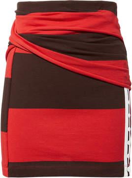 3.1 Phillip Lim Striped Panel Mini Skirt