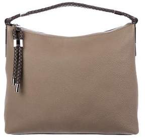 Michael Kors Skorpios Leather Shoulder Bag - NEUTRALS - STYLE