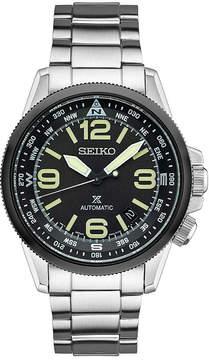 Seiko Mens Silver Tone Bracelet Watch-Srpa71