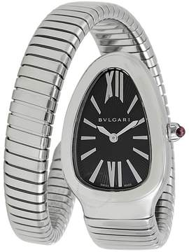 Bvlgari Serpenti Tubogas Black Opaline Dial 35mm Ladies Watch