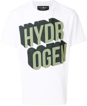 Hydrogen brand print T-shirt