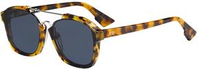 Safilo USA Dior Abstract Rectangle Sunglasses