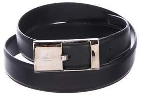 Gucci Leather Dress Belt