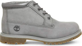 Timberland Ladies Grey Iconic Nellie Chukka Double Waterproof Boots
