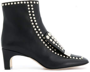 Sergio Rossi studded ankle boots
