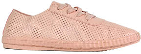 Refresh Mauve Perforated Macy Sneaker