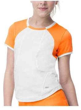 Fila Girls' Citrus Bright Cap Sleeve Top