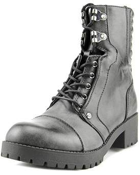 G by Guess Meara Round Toe Synthetic Ankle Boot.