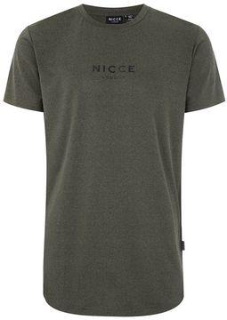 Nicce Khaki Tech T-Shirt