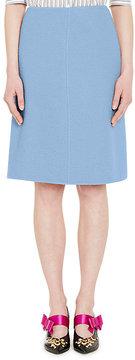 Prada Women's Camel A-Line Skirt