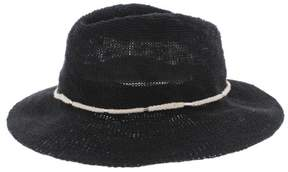 Vince Camuto Womens Embellished Woven Sun Hat