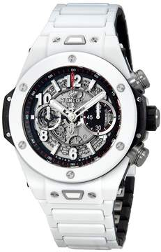 Hublot Big Bang Unico Automatic Men's White Ceramic Watch