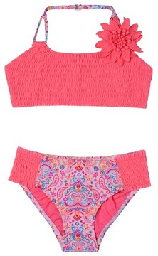 Hula Star Toddler Girl's Pretty Paisleytwo-Piece Swimsuit