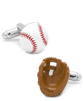 Cufflinks Inc. Men's Cufflinks, Inc. Baseball & Glove Cuff Links