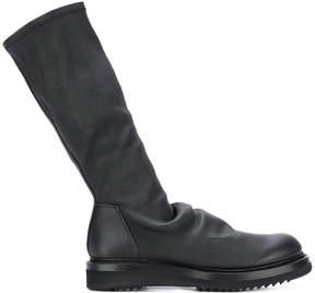 Rick Owens calf length boots