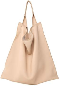 Jil Sander Xiao Md Grained-leather Shoulder Bag