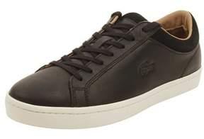 Lacoste Mens Straightset Crf Sneakers In Black.