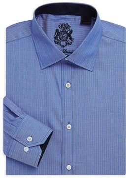 English Laundry Men's Stripe Cotton Dress Shirt