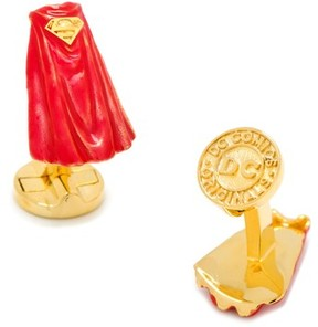 Cufflinks Inc. Men's Cufflinks, Inc. 3D Superman Cape Cuff Links