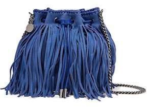 Stella McCartney Fringed Faux Suede Bucket Bag