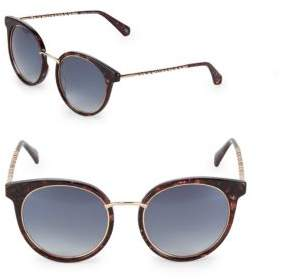 Balmain Gradient 53MM Oval Sunglasses