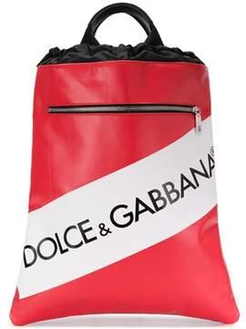 Dolce & Gabbana Dolce E Gabbana Men's Red Cotton Backpack.