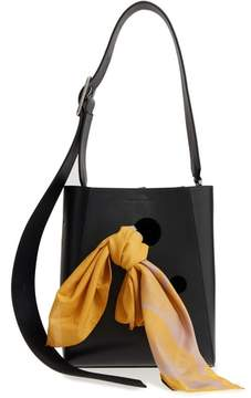 Calvin Klein x Andy Warhol Foundation Small Bucket Bag with Bandana & Removable Pouch