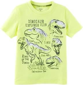 Carter's Toddler Boys Dino Explorer T- Shirt
