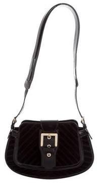 Tod's Velvet Shoulder Bag