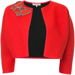 Dice Kayek boxy embellished jacket