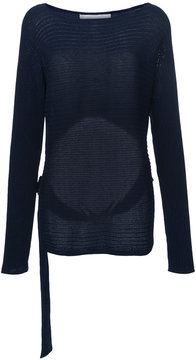 Dion Lee Horizontal ribbed jumper