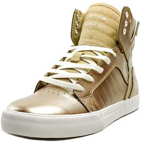 Supra Skytop Round Toe Synthetic Sneakers.