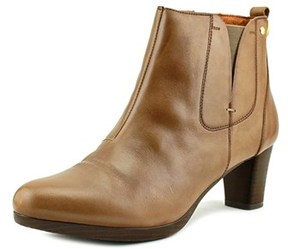 PIKOLINOS Siena Round Toe Leather Ankle Boot.