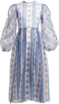 Emilia Wickstead Veronica floral-print silk-organza dress