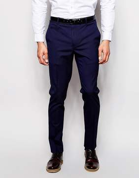 Asos Skinny Smart Pants in Navy