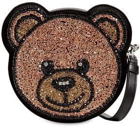 Moschino Crystal Teddy Shoulder Bag