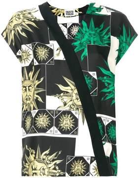 Fausto Puglisi printed sun blouse