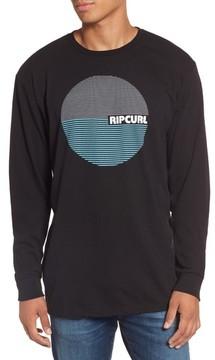 Rip Curl Men's Terra Custom Long Sleeve Graphic T-Shirt