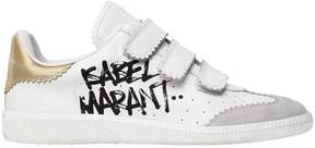 Isabel Marant 20mm Beth Painted Logo Leather Sneakers