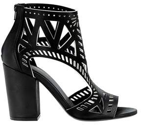 Elena Iachi Women's Black Sandals.