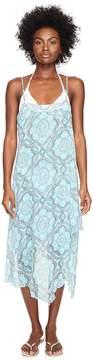 Letarte Printed Sundress Women's Swimwear