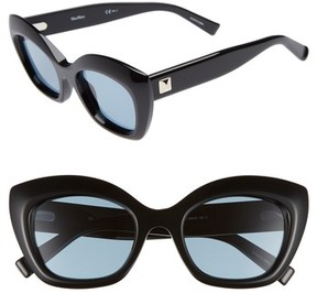 Max Mara Women's Prism Vii 50Mm Gradient Cat Eye Sunglasses - Black