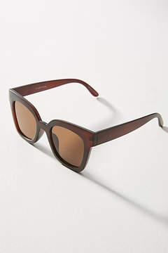 Anthropologie Matte Square Sunglasses