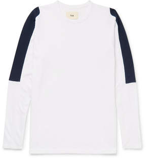 Folk Panelled Cotton-Jersey T-Shirt