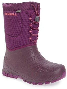 Merrell Kid's 'Snow Quest' Waterproof Boot
