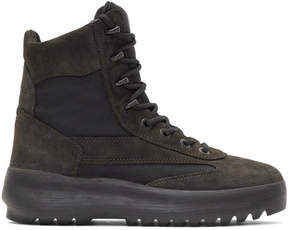 Yeezy Black Military Boots