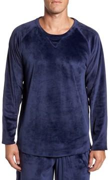 Daniel Buchler Men's Stretch Velvet Long Sleeve T-Shirt