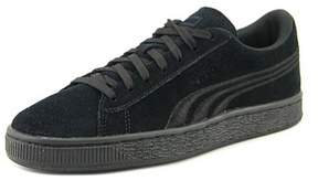 Puma Suede Classic Badge Youth US 11 Black Sneakers
