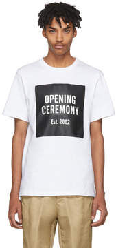 Opening Ceremony White Limited Edition Logo T-Shirt