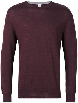 Eleventy round neck plain pullover